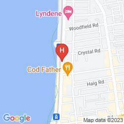 Mapa THE SANDFORD PROMENADE HOTEL