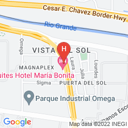 Mapa MARIA BONITA BUSINESS HOTEL & SUITES