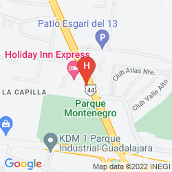 Mapa HAMPTON INN BY HILTON GUADALAJARA - AEROPUERTO