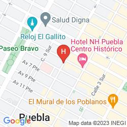 Mapa EL HOTELITO