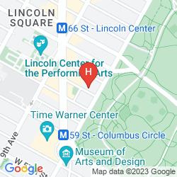 Mapa WEST SIDE YMCA