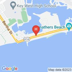 Mapa BARBARY BEACH HOUSE KEY WEST