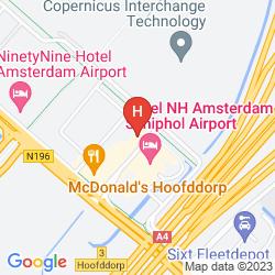 Mapa BEST WESTERN PLUS AMSTERDAM AIRPORT