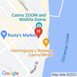 Mapa PULLMAN CAIRNS INTERNATIONAL