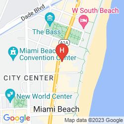 Mapa SHORE CLUB SOUTH BEACH