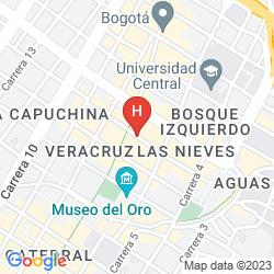Mapa SANTA LUCIA HOTEL BOUTIQUE SPA