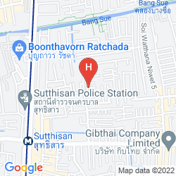 Mapa MOMENTS IN BANGKOK HOSTEL