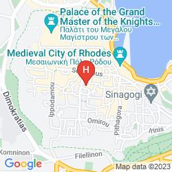 Mapa MYSTIC HOTEL