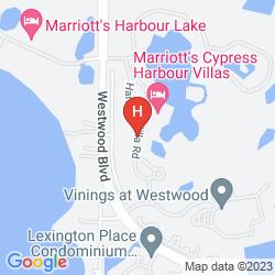 Mapa MARRIOTT'S CYPRESS HARBOUR