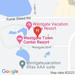 Mapa WESTGATE TOWN CENTER RESORT & SPA