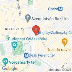 Mapa A1 HOSTEL