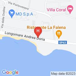 Mapa BAIA DEL SOLE
