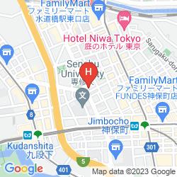 Mapa VILLA FONTAINE KUDANSHITA