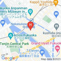 Mapa RESOL TRINITY HAKATA