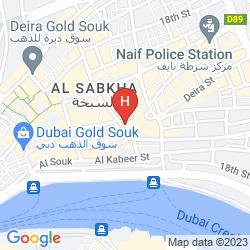 Mapa GRAND SINA HOTEL
