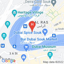 Mapa HAFEZ HOTEL APARTMENT
