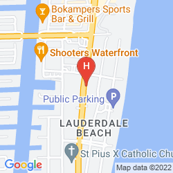 Mapa THE HOTEL DEAUVILLE