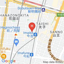 Mapa BUSINESS HOTEL WAKO
