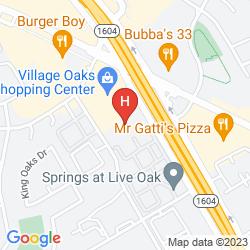 Mapa CLARION SUITES HOTEL - SAN ANTONIO