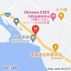 Mapa ISHIGAKI RESORT