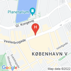 Mapa COMFORT HOTEL VESTERBRO
