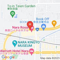 Mapa NARA ROYAL HOTEL