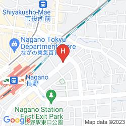 Mapa MIELPARQUE NAGANO HOTEL