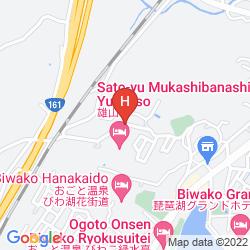 Mapa YUZANSO RYOKAN