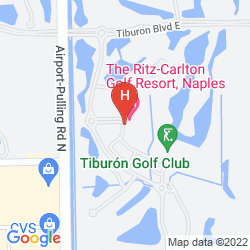 Mapa THE RITZ-CARLTON GOLF RESORT, NAPLES