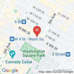 Mapa THE MARLTON