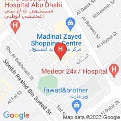Mapa AL JAZEERA ROYAL HOTEL