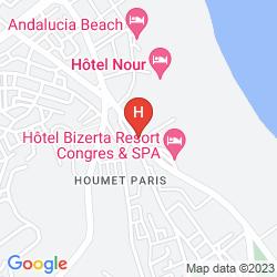 Mapa ANDALUCIA BEACH HOTEL RESIDENCE