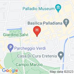 Mapa LE DIMORE DEL CONTE