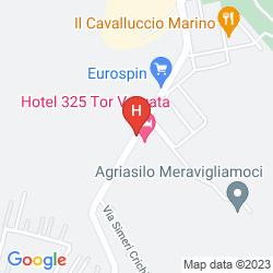 Mapa 325 TOR VERGATA