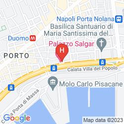 Mapa PALAZZO SALGAR