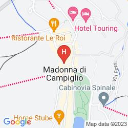 Mapa RESIDENCE HOTEL SPORT CAMPIGLIO