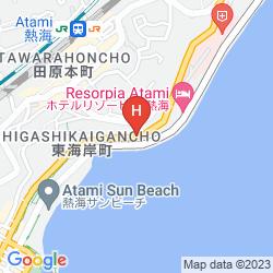 Mapa WISTERIAN LIFE CLUB ATAMI