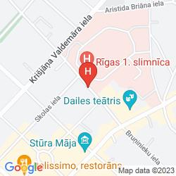 Mapa CITY HOTEL TEATER