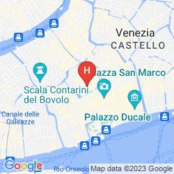 Mapa ALBERGO SAN MARCO