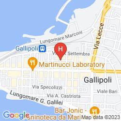 Mapa CASE VACANZA CARPE DIEM