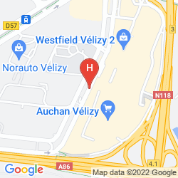 Mapa IBIS STYLES PARIS VELIZY