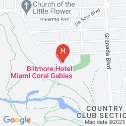 Mapa BILTMORE HOTEL