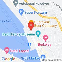 Mapa HOSTEL SOL