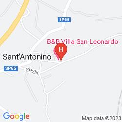 Mapa VILLA SAN LEONARDO SPA