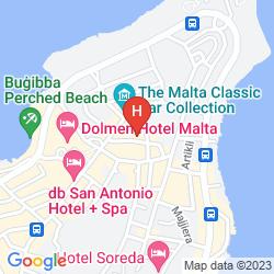 Mapa HULI HOTEL & APARTMENTS