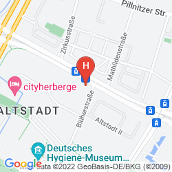 Mapa DORINT HOTEL DRESDEN