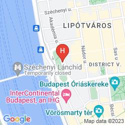 Mapa FOUR SEASONS HOTEL GRESHAM PALACE BUDAPEST