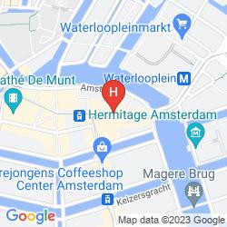 Mapa REMBRANDT SQUARE HOTEL AMSTERDAM
