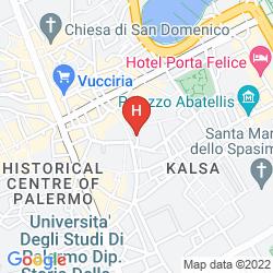 Mapa B&B HOME MALETTO