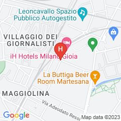 Mapa IH HOTEL MILANO GIOIA
